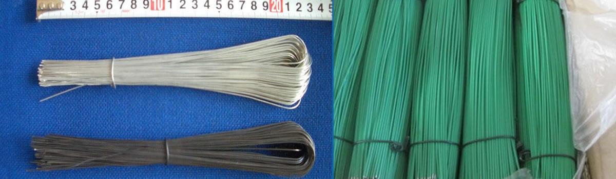 Single Loop Bale Tie-Galvanized Annealed Cotton Baling Wire