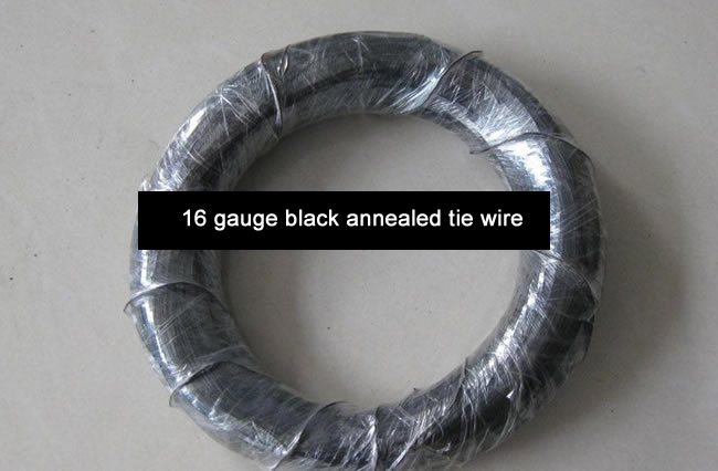Oiled Black Annealed Wire Ties, Tying Wire, Binding Wire
