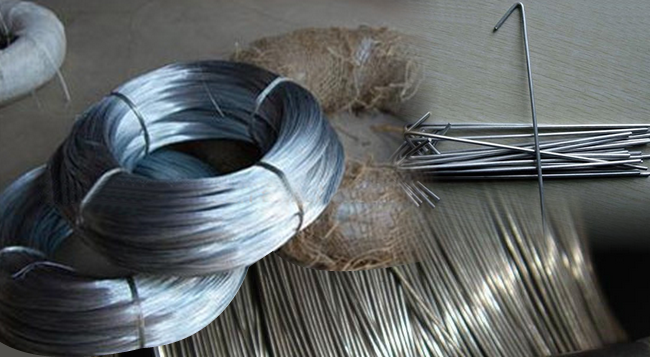 Galvanized Iron Zinc Plated Fence Tie Wire