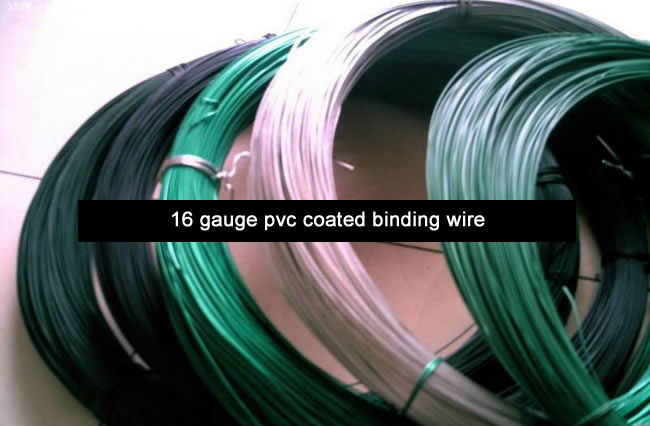 16 Gauge Plastic Coated Iron Tying Wire