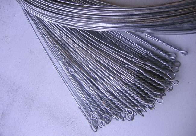 Bale Wire Ties : Quick link cotton baling wire ties double looped for