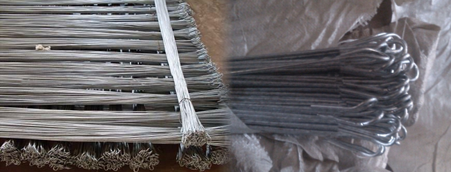 Galvanized Iron and Black Annealed Single Loop Baling Wire Ties