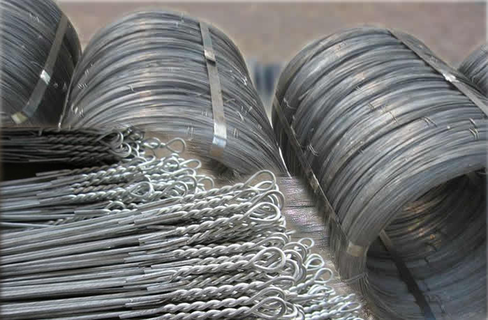 Galvanised Wire Ties Used in Cotton Linter Baling